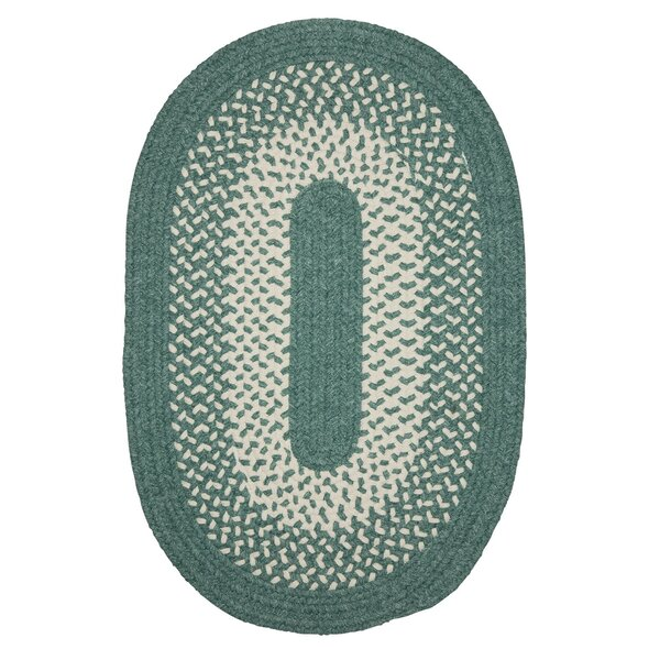 Melody Hand-Woven Green Area Rug by Winston Porter