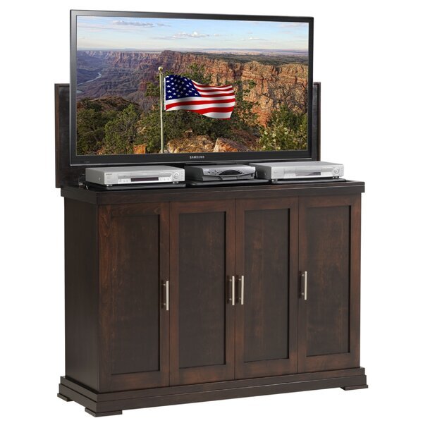 Wyrick Solid Wood TV Stand For TVs Up To 60