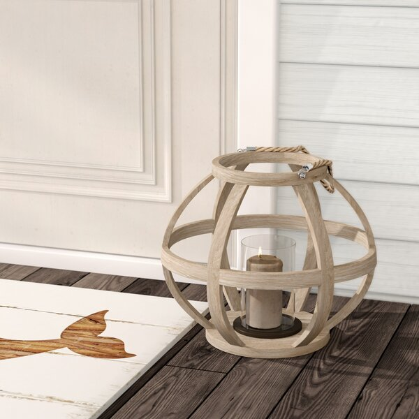 Glass Lantern by Bay Isle Home