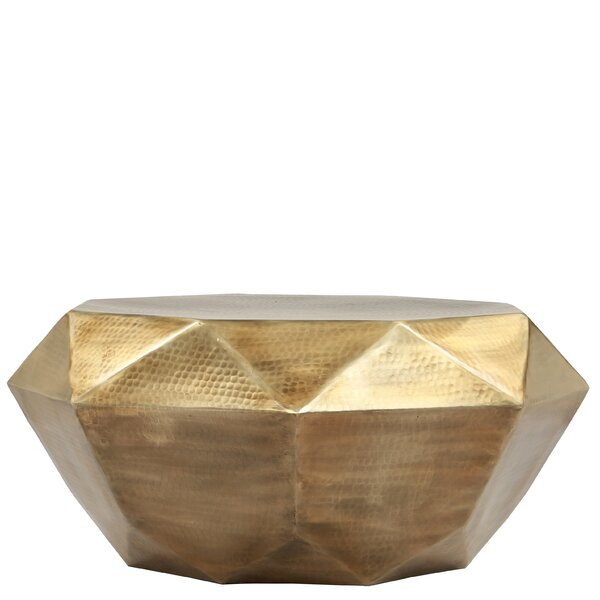 Aresford Diana Geometric Coffee Table by Bloomsbury Market Bloomsbury Market