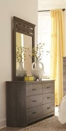 Rudy 6 Drawer Double Dresser With Mirror By Williston Forge