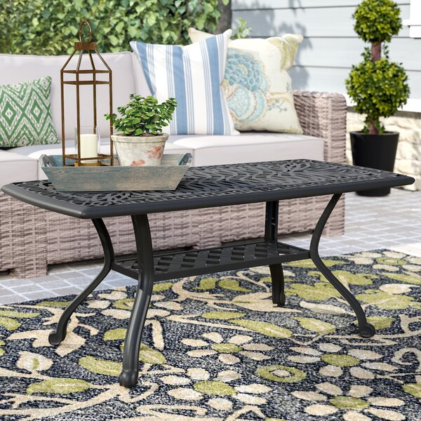 Kristy Metal Coffee Table by Darby Home Co