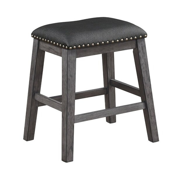 Reece Wooden Bar Stool (Set of 2) by Millwood Pines