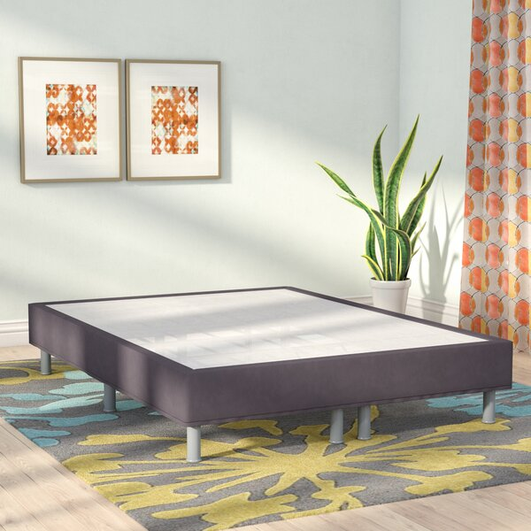 Premium Steel Mattress Foundation by Alwyn Home