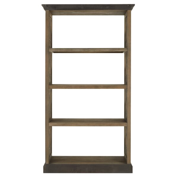 Yost Brushed Wood Standard Bookcase by One Allium Way