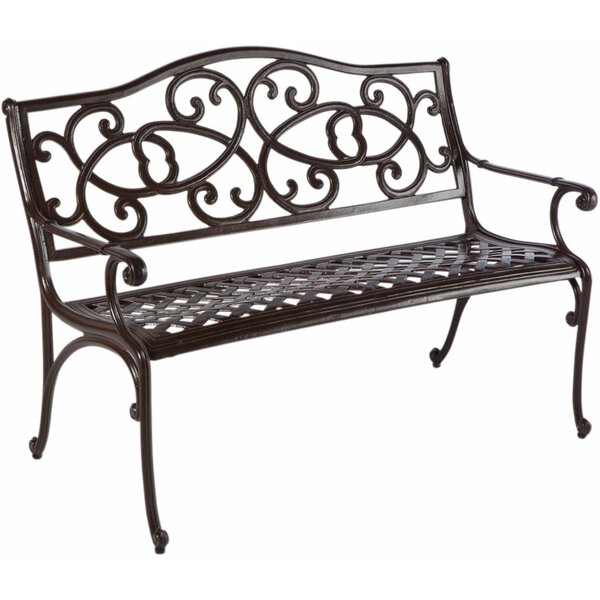 Mackey Aluminum Garden Bench by Darby Home Co Darby Home Co