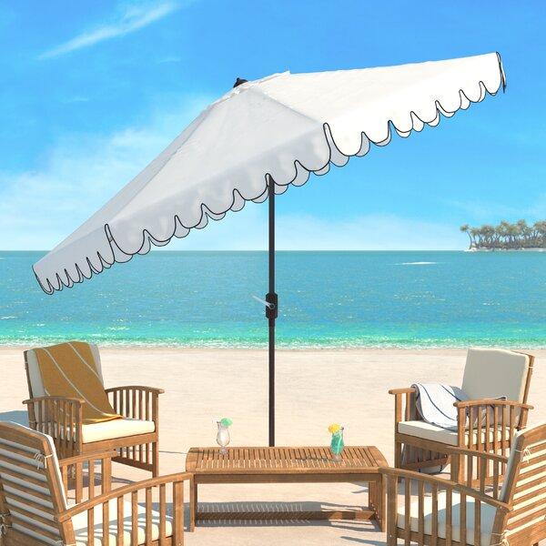 Truet 10.8' Beach Umbrella By Breakwater Bay by Breakwater Bay Coupon