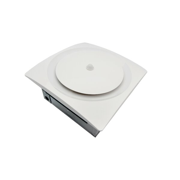 Continuous Run Energy Star Bathroom Fan with Moisture and Motion Sensor by Aero Pure