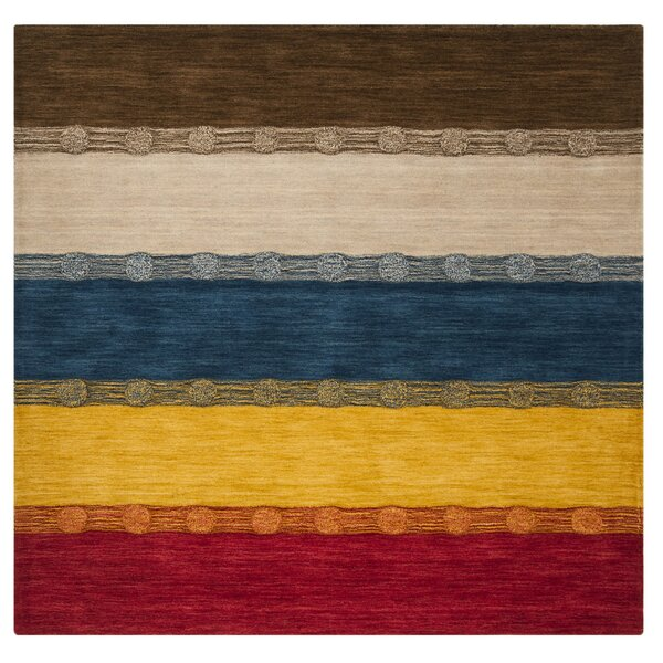 Tiernan Wool Beige Area Rug by Millwood Pines