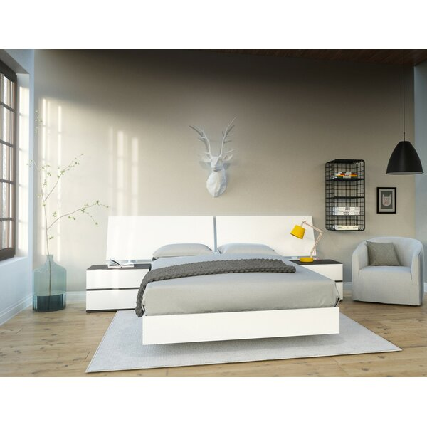 Ashcraft Platform 3 Piece Bedroom Set By Orren Ellis by Orren Ellis Cheap