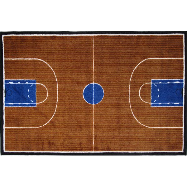 Supreme Basketball Court Kids Rug by Fun Rugs