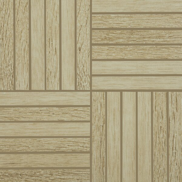 Harmony Grove 1 x 6 Porcelain Wood look Tile in Oak/Olive Champagne by PIXL