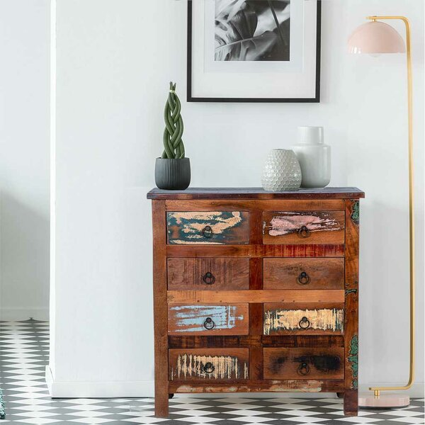 Truby 8 Drawer  Bachelors Chest by Millwood Pines
