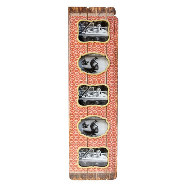 Wood Vertical 5 Picture Frame by American Mercantile