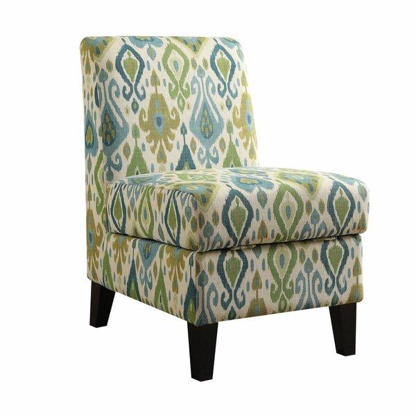 Vidalia Slipper Chair with Storage by Ophelia & Co.