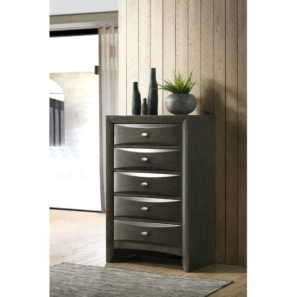 Carle 5 Drawer Chest by Red Barrel Studio