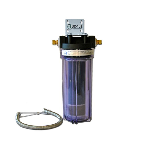 Refillable Undercounter Filter by CuZn Water Systems