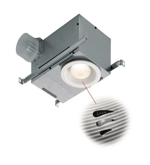 70 CFM Energy Star Bathroom Fan with Light and Humidity Sensor by NuTone