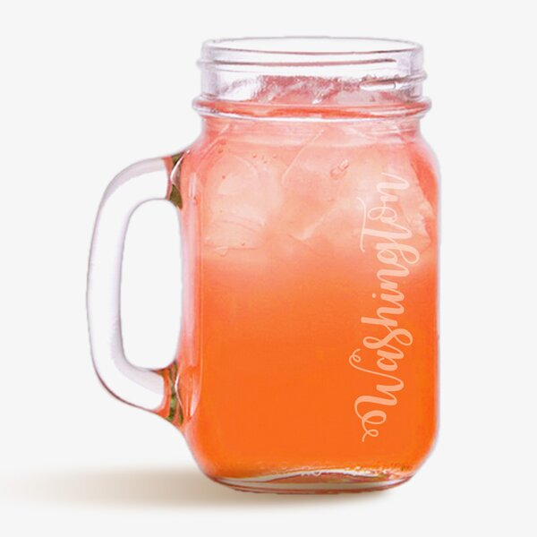Classic Customized 16 oz. Mason Jar by Monogramonline Inc.