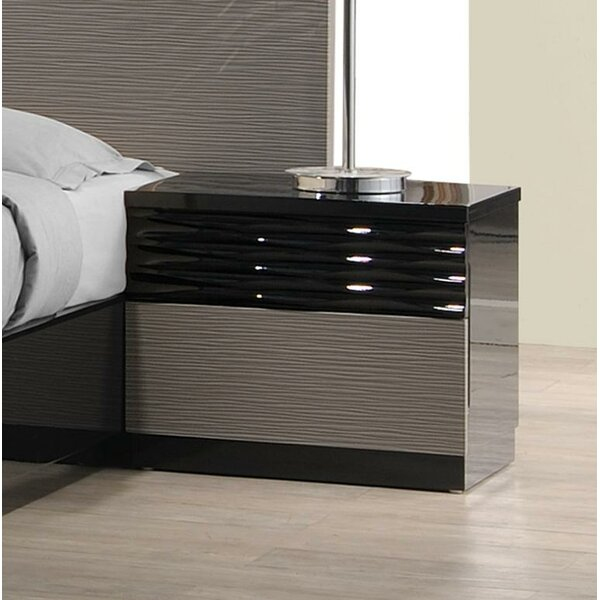 Durante 2 Drawer Nightstand by Brayden Studio