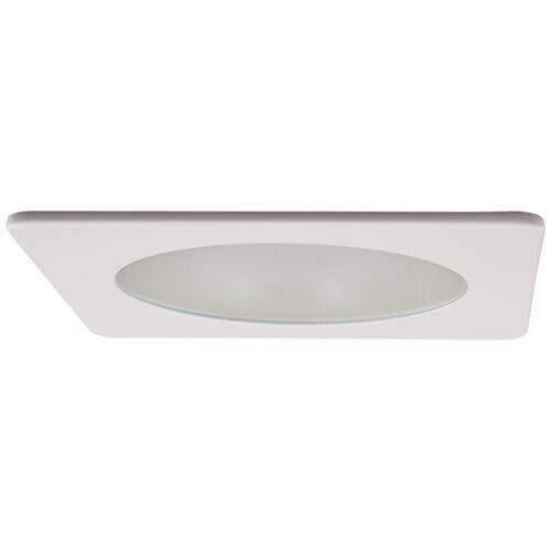Adjustable Shower Frosted Lens 4 LED Recessed Trim by Elco Lighting