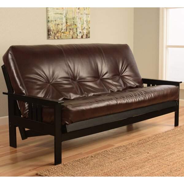 Leavittsburg Futon and Mattress by Red Barrel Stud