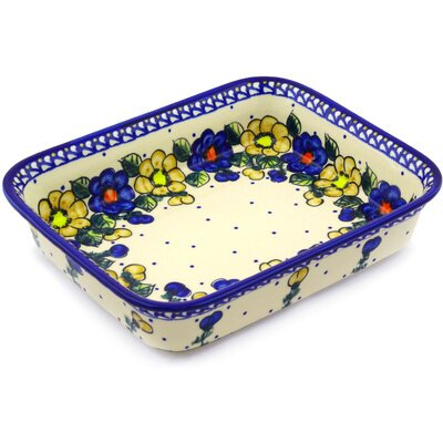 Polish Pottery Rectangular Baker by Polmedia