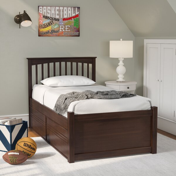 Poynor Platform Bed with Storage Drawers by Harriet Bee