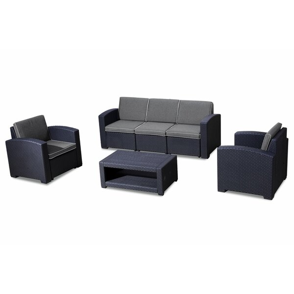 Minahil 6 Piece Seating Group with Cushions by Latitude Run