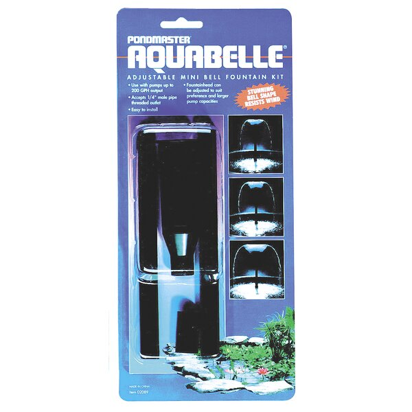 Aquabelle Variable Fountain Head Kit by Danner
