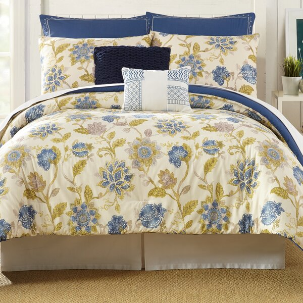 Monterey 7 Piece Comforter Set by Presidio Square