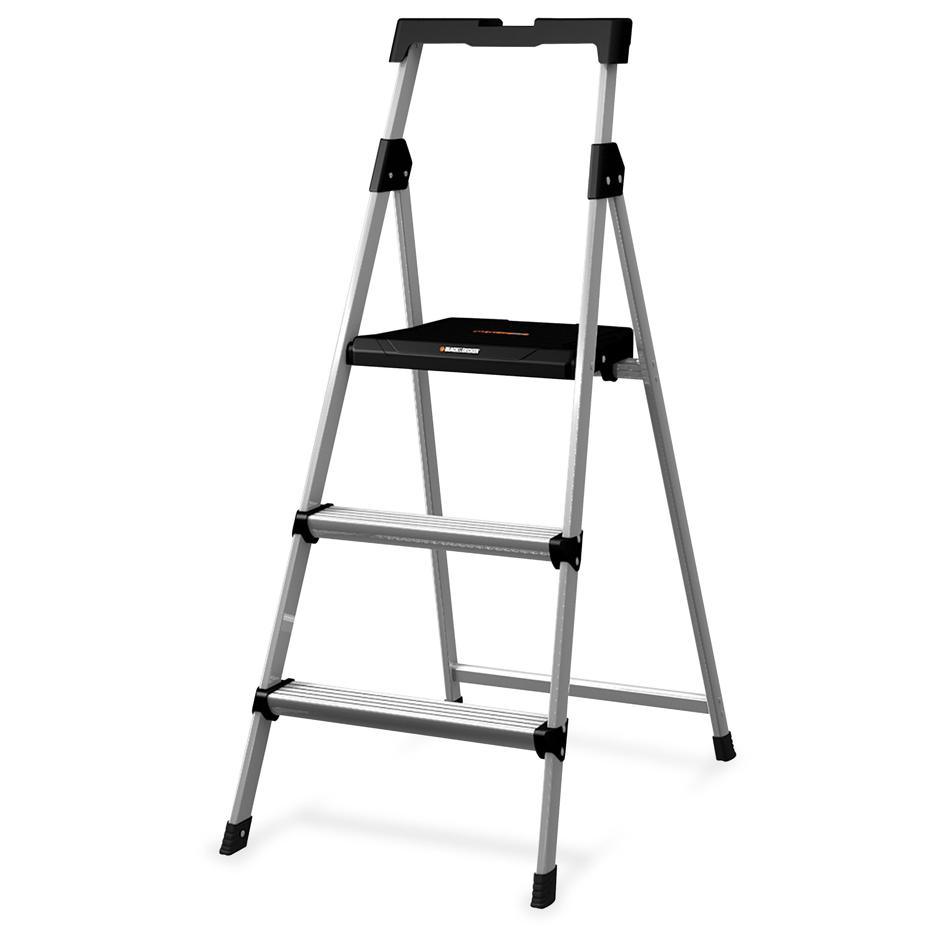Ladder Stay Power Steps With Non Slip Tread Adjustable Fold Ladder Stand Off