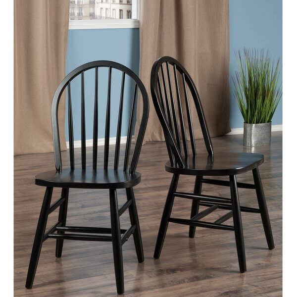 Sledmere Solid Wood Dining Chair by Winston Porter