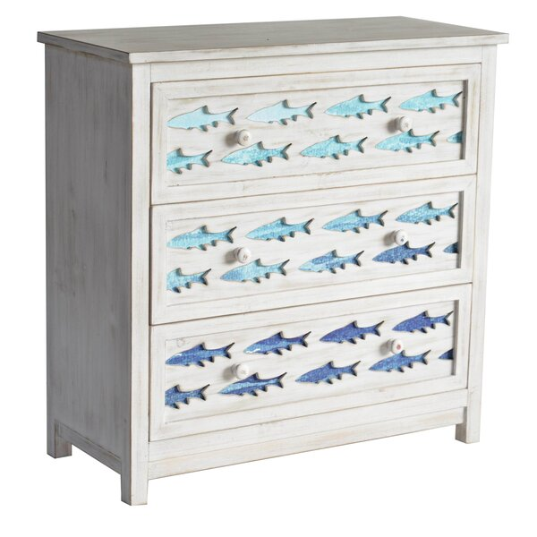 Amias 3 Drawer Square Accent Chest by Rosecliff Heights Rosecliff Heights