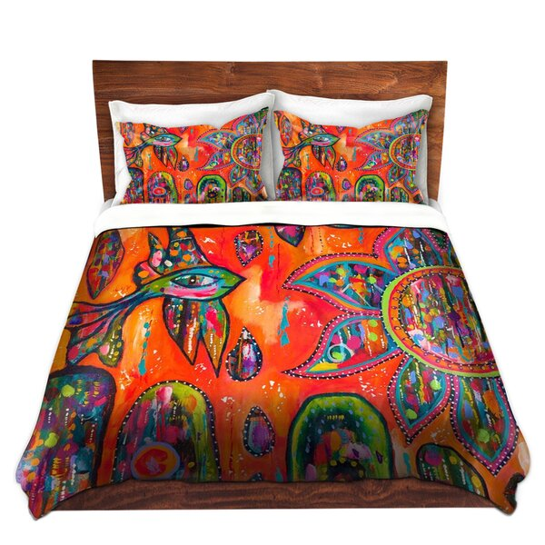 Shoulders Michele Fauss Flying Fish Microfiber Duvet Covers by Ebern Designs