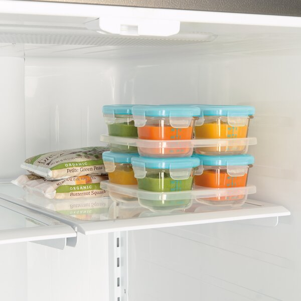 Glass Baby Block 4 Container Food Storage Set by OXO