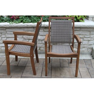 Lesly Stacking Patio Dining Chair