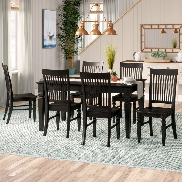 Pennington 7 Piece Dining Set by Beachcrest Home
