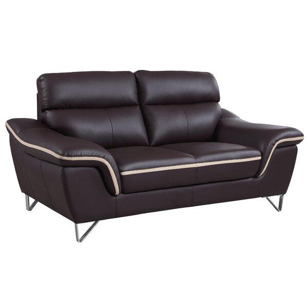 Matheny Luxury Upholstered Living Room Loveseat by Orren Ellis Orren Ellis