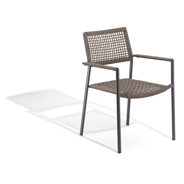 Campagna Stacking Patio Dining Chair by George Oliver George Oliver