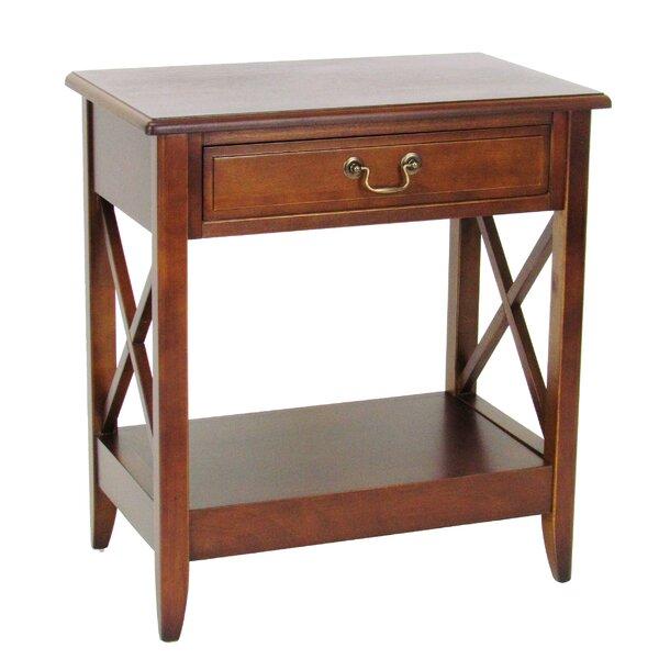Montesano 1 Drawer Nightstand by Canora Grey
