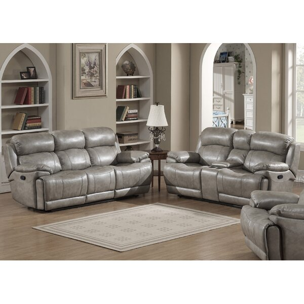 Kunkel Reclining 2 Piece Living Room Set by Red Barrel Studio
