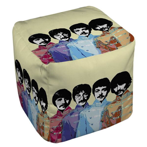 Sixties Legacy Pouf by Manual Woodworkers & Weavers