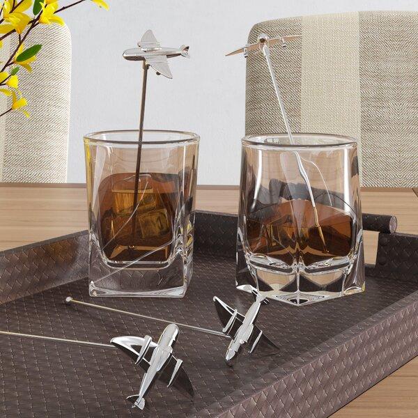 Aviation Cocktail Stirrer (Set of 4) by Birch Lane™