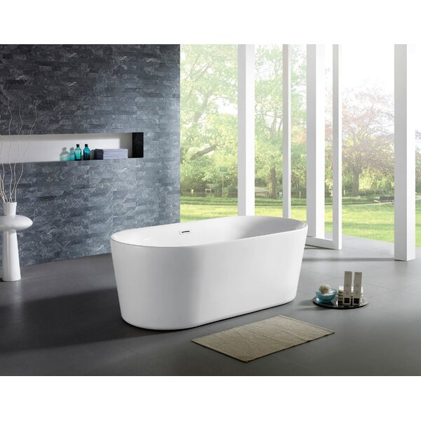 Tiffany 32 x 67 Soaking Bathtub by Eviva