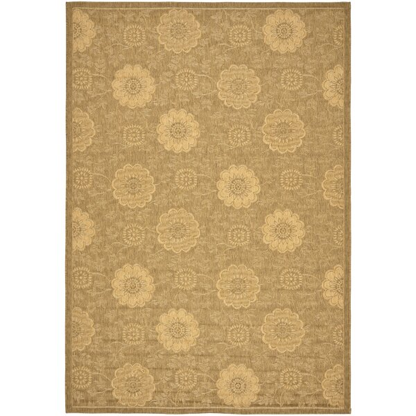 Wysocki Light Gold Indoor/Outdoor Area Rug by August Grove