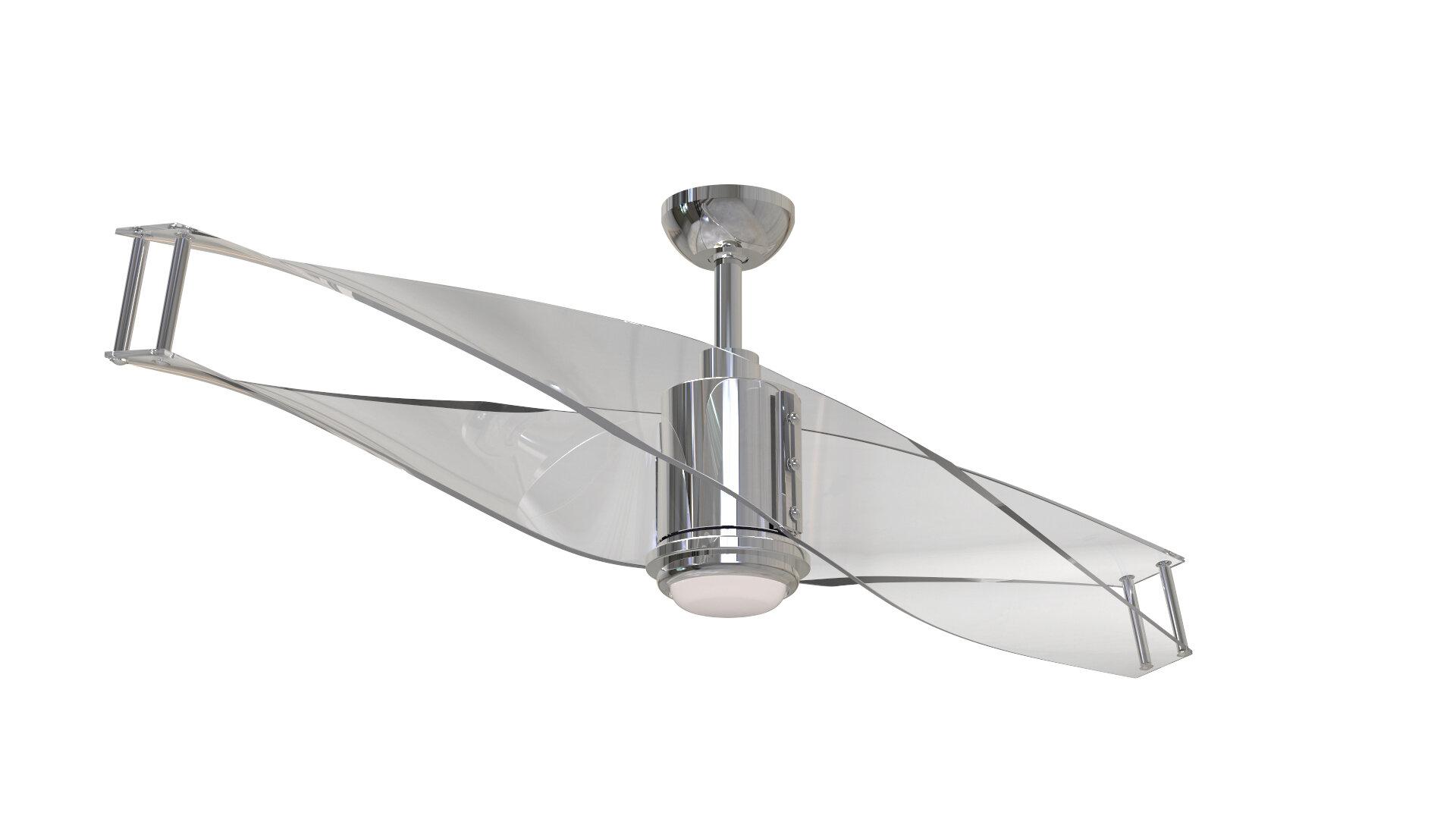 56 Penbrook 2 Blade Led Ceiling Fan