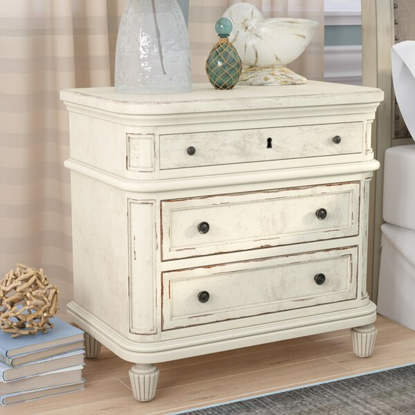 Henrietta 3 Drawer Nightstand by Birch Lane™ Heritage