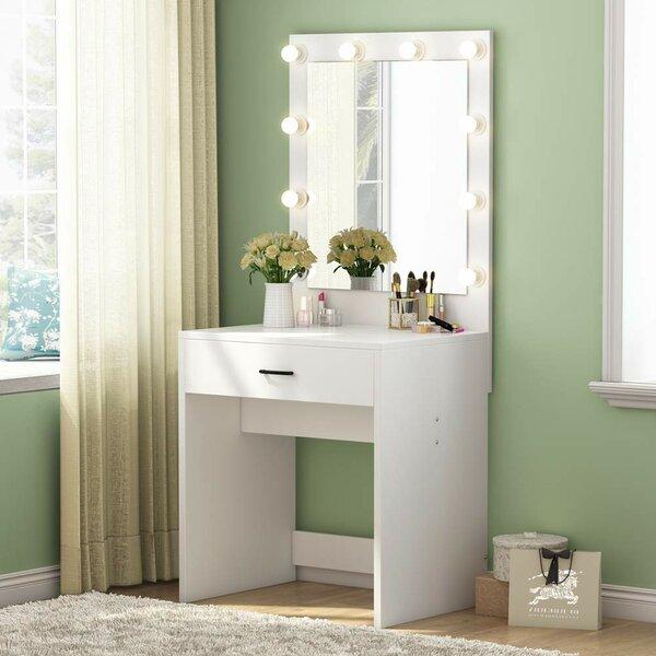 Kaukauna Vanity with Mirror by Ebern Designs
