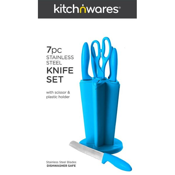 7 Piece Knife Set by Kitch N' Wares